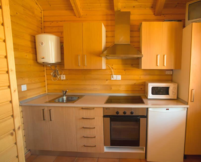 Bungalows-Sanxenxo-cocina
