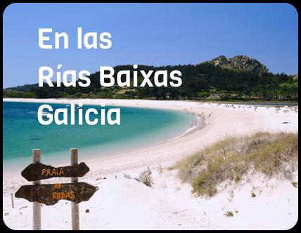 En las Rías Baixas Galicia
