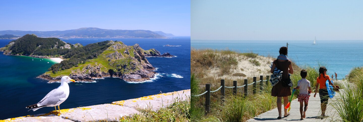 71e6422325717 If you decided to stay at Cachadelos Campsite and you wish to know other  places in Galicia we can recommend visits to the Illas Atlanticas National  Park ...