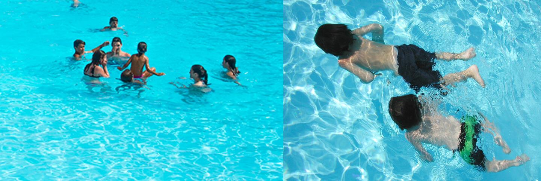 Abrimos nuestra piscina de agua salada camping cachadelos - Piscinas de agua salada ...